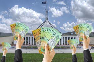 Parliament Cash Handoutjpg